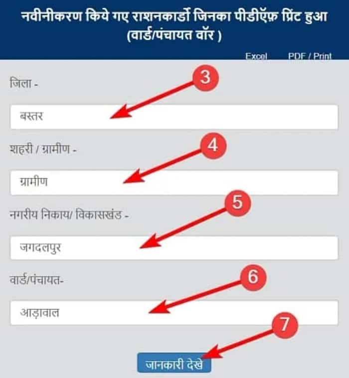 Chhattisgarh Ration Card List 2020 कैसे चेक करें