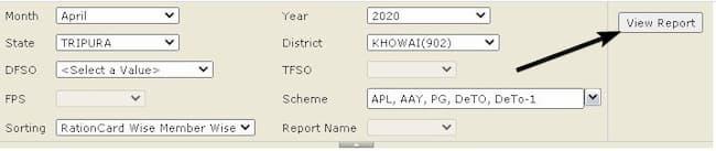 Tripura Ration Card List 2021 कैसे देखे